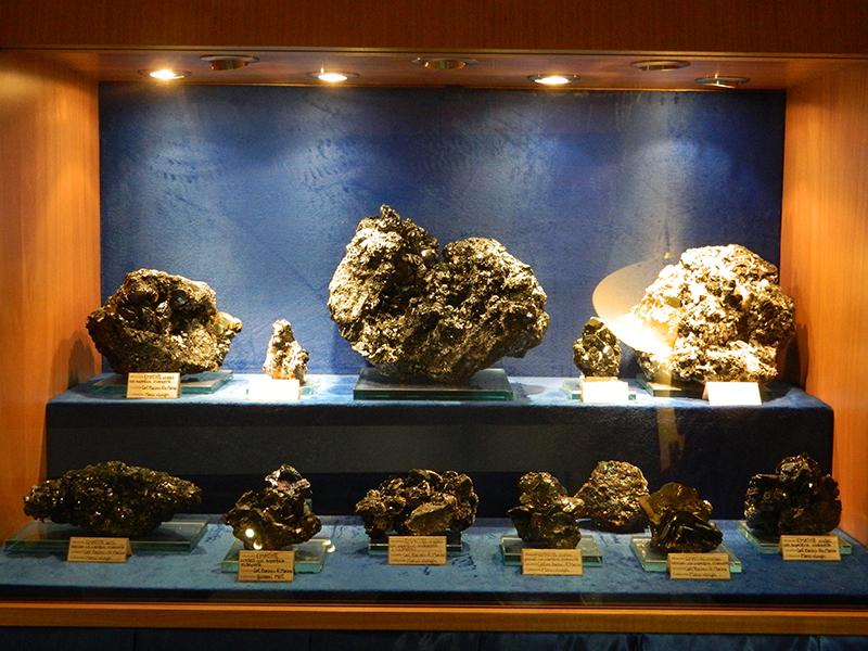 collezione minerali