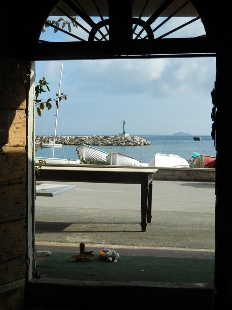 vista dal voltone sul porto