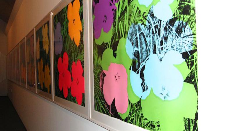 Fiori Warhol.Fiori Andy Warhol Cideviandare