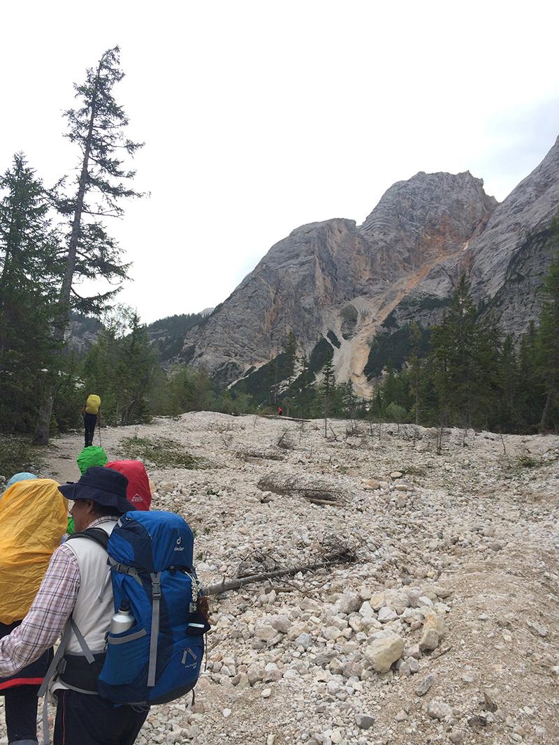 trekking al lago di braies